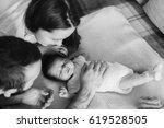 Parents With Newborn Baby Boy