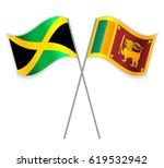 jamaican and sri lankan crossed ... | Shutterstock .eps vector #619532942