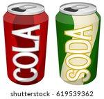vector illustration of two soft ...   Shutterstock .eps vector #619539362