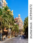 valencia  spain   july 27  2016 ... | Shutterstock . vector #619544372