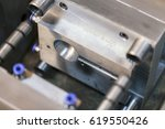 steel mold for plastic products ... | Shutterstock . vector #619550426