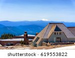 timberline lodge  may 8 ...   Shutterstock . vector #619553822