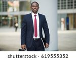 portrait of an african... | Shutterstock . vector #619555352
