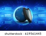 3d rendering protect the world | Shutterstock . vector #619561445