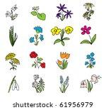 Simple Floral Drawings