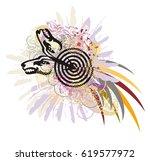 imaginary animal symbol in...