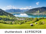 View Over Zell Am See In Summe...
