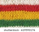 knitting hand made wool... | Shutterstock . vector #619593176