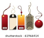 price tags | Shutterstock .eps vector #61966414