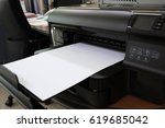 printers with printouts of...   Shutterstock . vector #619685042