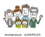 family | Shutterstock .eps vector #619695125