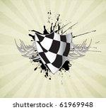 racing sign | Shutterstock .eps vector #61969948