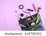 women fashion bags and... | Shutterstock . vector #619705352