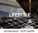 lifestyle hobby interest... | Shutterstock . vector #619716698