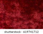 red velvet background | Shutterstock . vector #619741712