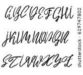 handwritten vector chalked...   Shutterstock .eps vector #619747802