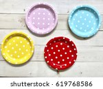 A Set Of Colorful Polka Dots...