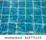 reflection  light and swimming... | Shutterstock . vector #619771115