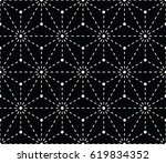 minimal sacred geometry graphic ... | Shutterstock .eps vector #619834352