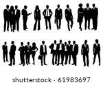 business people | Shutterstock .eps vector #61983697
