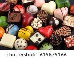 assortment of sweet...   Shutterstock . vector #619879166