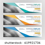 abstract web banner design... | Shutterstock .eps vector #619921736