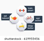 fitness tags  labels with icons ...