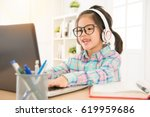 e learning give preschool kids... | Shutterstock . vector #619959686