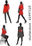 Female Fashion Figures In...