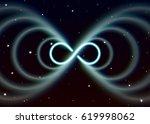 magic lemniscate symbol ... | Shutterstock .eps vector #619998062