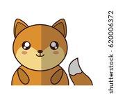 kawaii animal icon   Shutterstock .eps vector #620006372