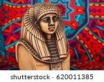 Ancient Egyptian Pharaoh Statu...