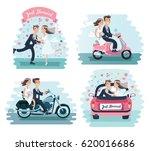 vector cartoon funny... | Shutterstock .eps vector #620016686
