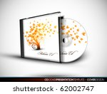 cd flourish cover design with... | Shutterstock .eps vector #62002747