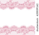 seamless pink vector lace... | Shutterstock .eps vector #620039162