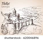 Panoramic View Of Old Tbilisi ...