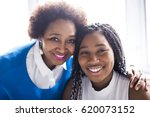 an african american mother and... | Shutterstock . vector #620073152