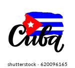 Cuba Hand Drawn Ink Brush...