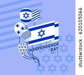 vector illustration of israel... | Shutterstock .eps vector #620105066