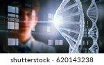 portrait of handsome doctor .... | Shutterstock . vector #620143238