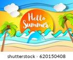 summer. | Shutterstock .eps vector #620150408