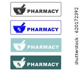pharmacy. icon. symbol. vector. ... | Shutterstock .eps vector #620172392