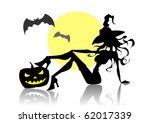 witch | Shutterstock .eps vector #62017339