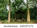 A Gazebo For Rest Area Between...