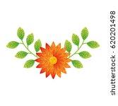 cute flower decorative icon | Shutterstock .eps vector #620201498