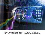 stock market chart. business... | Shutterstock . vector #620233682