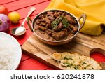 kidney bean curry or rajma or... | Shutterstock . vector #620241878