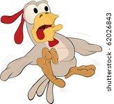 hen frightened | Shutterstock .eps vector #62026843