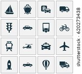 shipment icons set. collection... | Shutterstock .eps vector #620273438