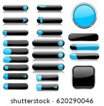 black and blue menu buttons.... | Shutterstock . vector #620290046
